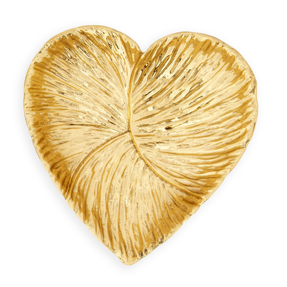 Aerin Ambroise Heart Gold Dish Large