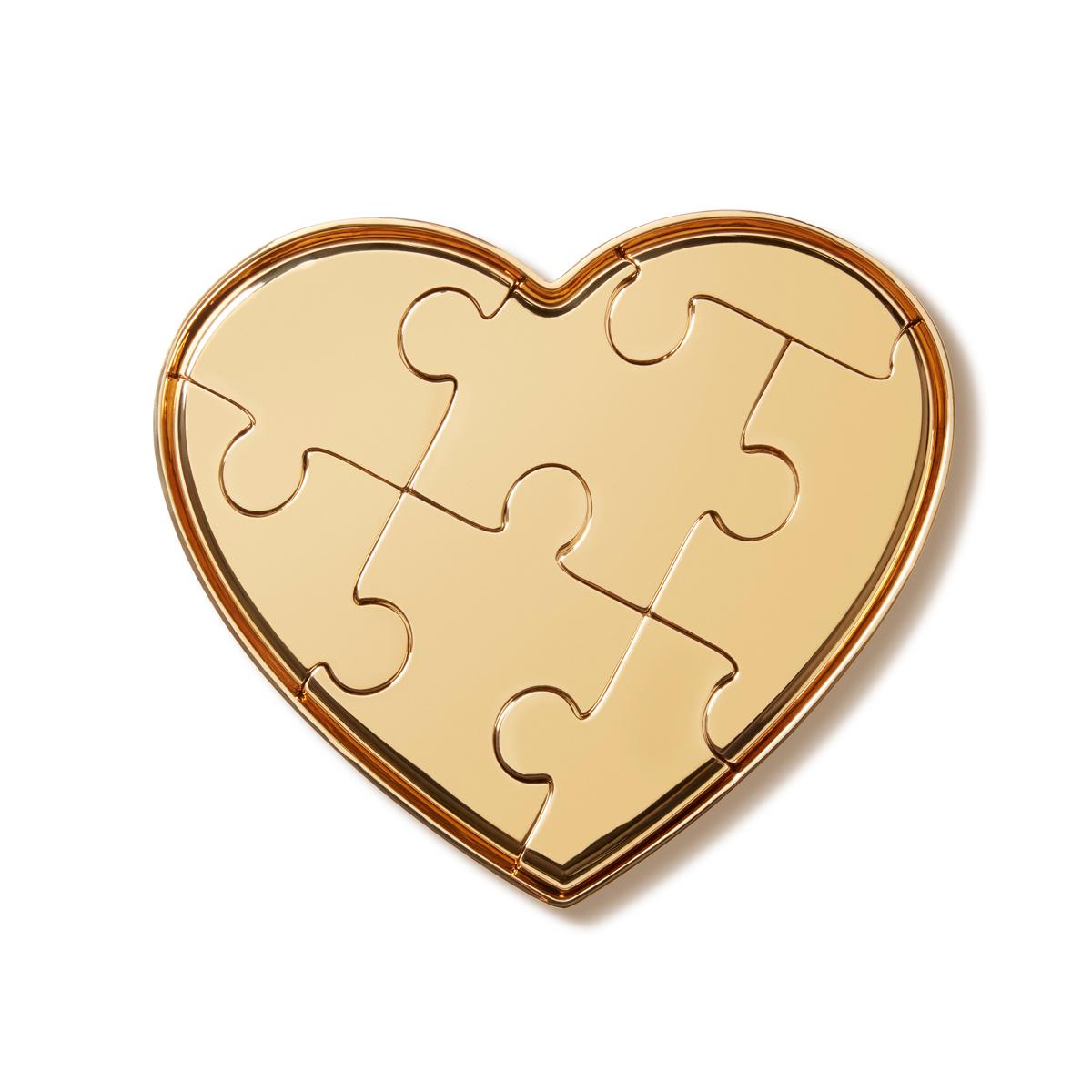 Aerin Heart Puzzle Sculpture