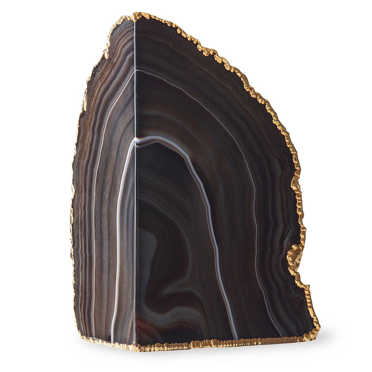 Aerin Agate Geode, Black