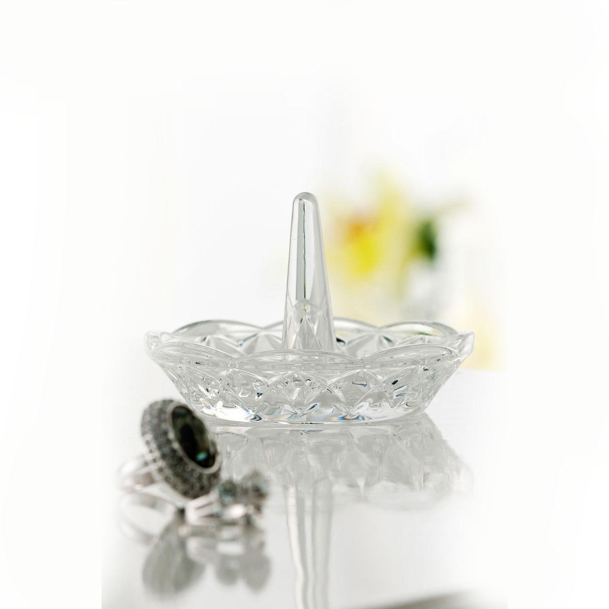 Galway Crystal Vanity Ring Holder