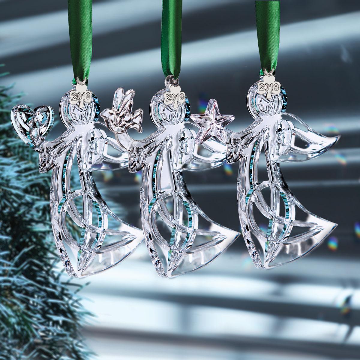Cashs Ireland, 2019 Three Sisters Angel Ornament Set