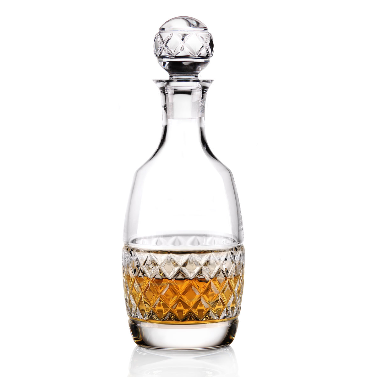 Cashs Ireland Cooper Rounded Whiskey Decanter