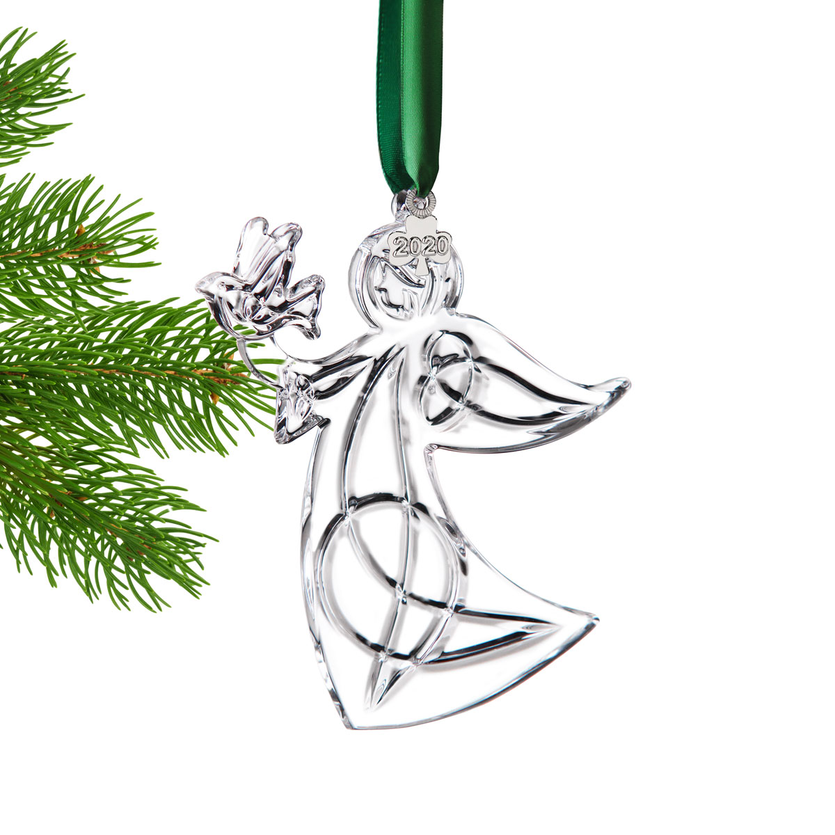 Cashs Ireland, 2020 Angel with Peace Dove Ornament, Annual Edition