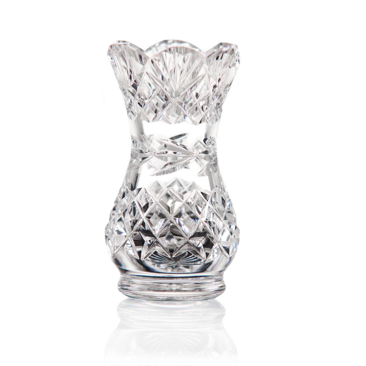 Cashs Ireland, Scalloped Posy Vase