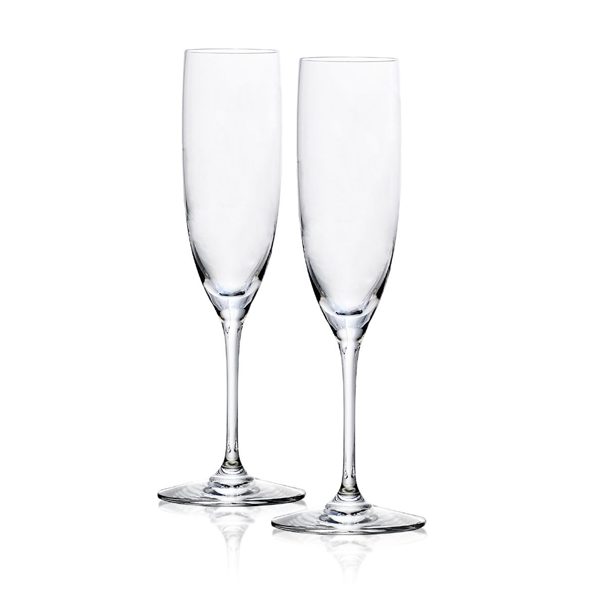 Steuben Century Champagne Pair