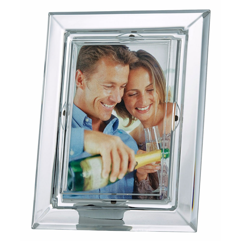 """Galway Crystal Occasions 5x7"""" Photo Frame"""