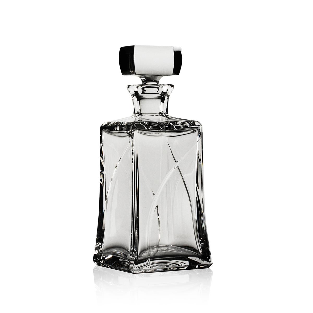 Steuben Whisper Whiskey Decanter