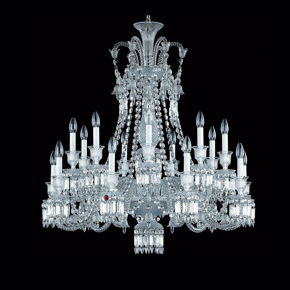 Baccarat Crystal Zenith Chandelier, 18 Light