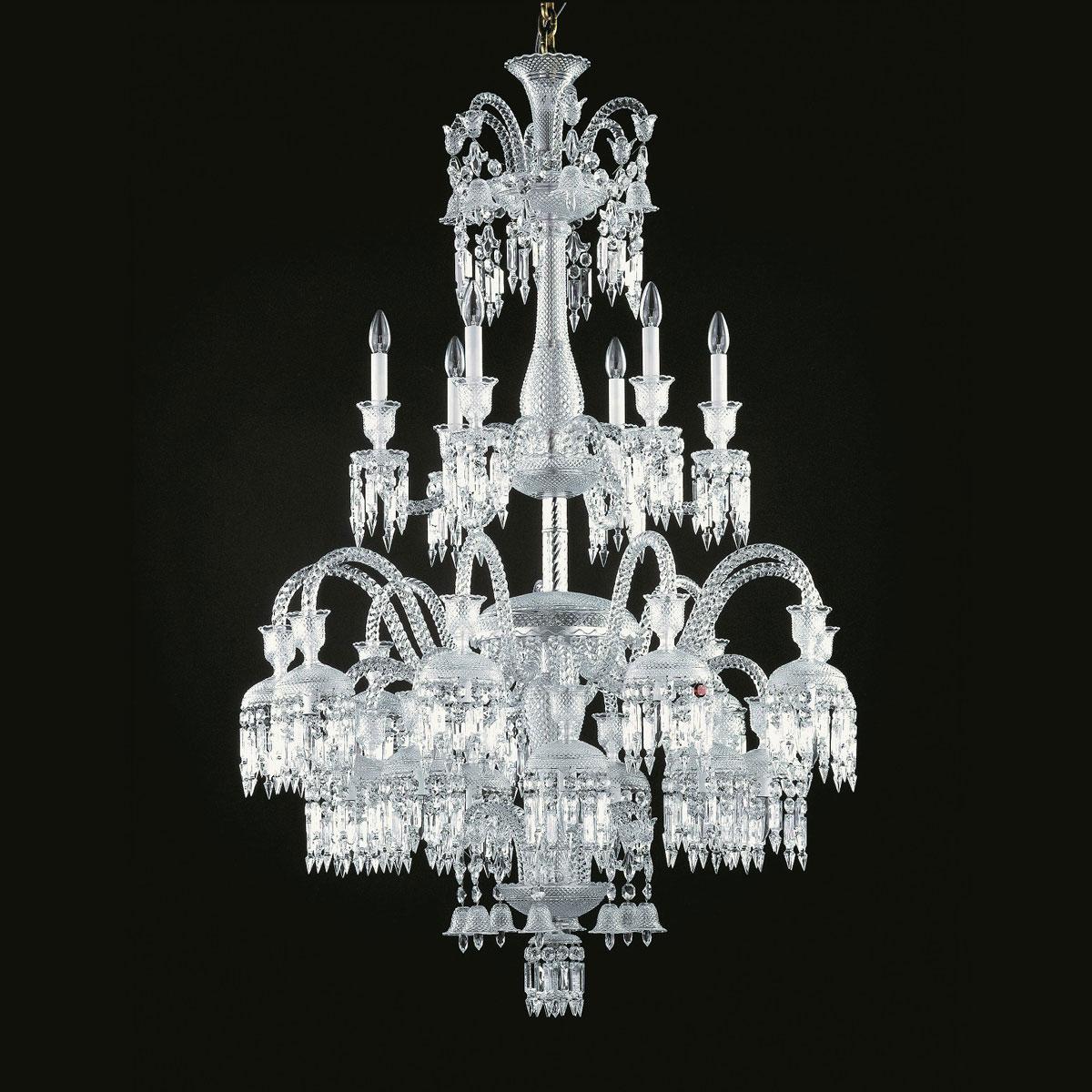 Baccarat Crystal, Solstice 24 Light Chandelier