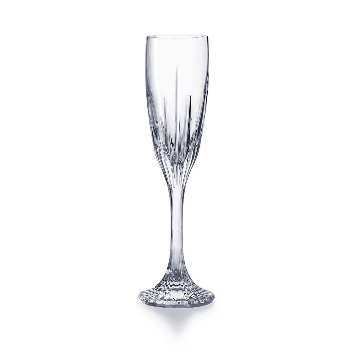 Baccarat Crystal Jupiter Champagne Flute, Single