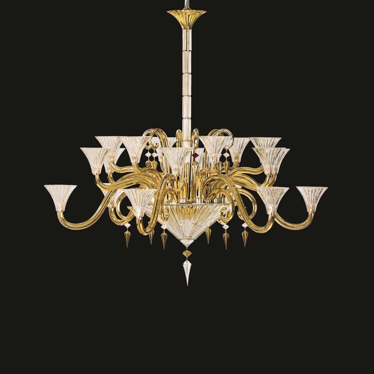 Baccarat Crystal, Mille Nuits Gold D