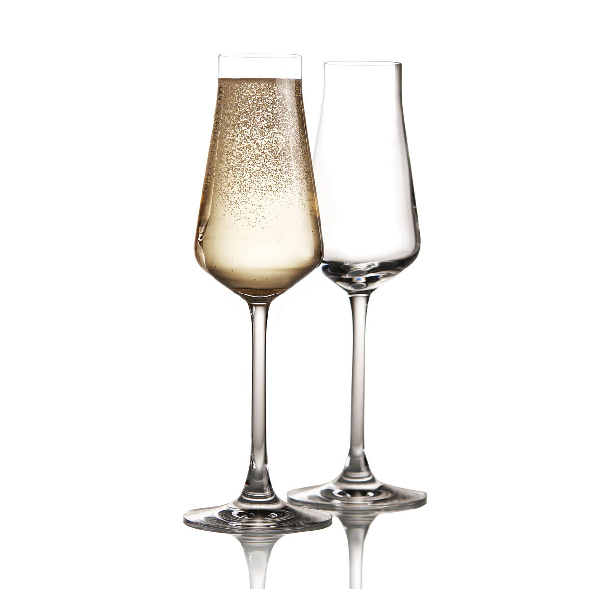 Chateau Baccarat Crystal, Degustation Champagne Crystal Flute, Pair