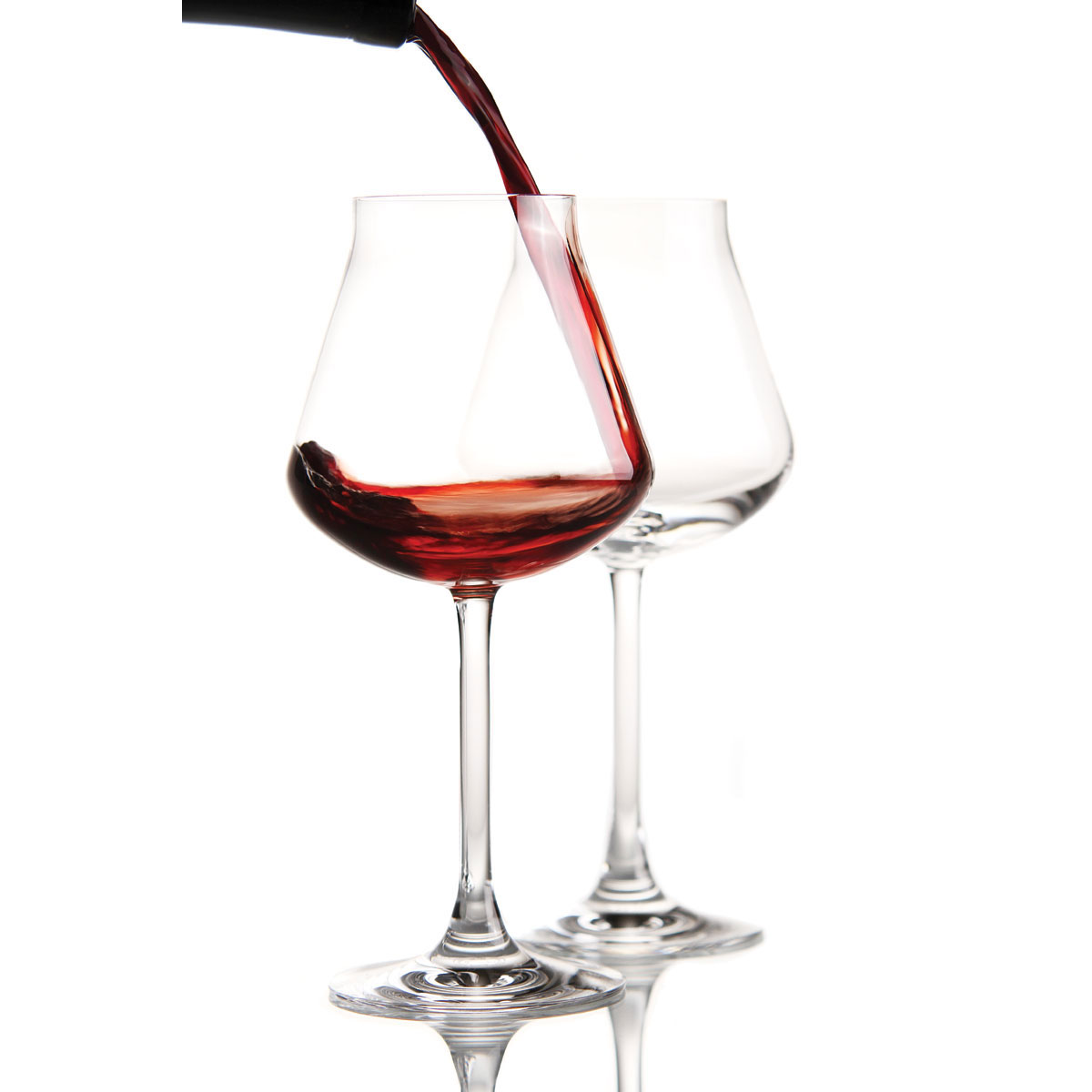 Chateau Baccarat Crystal, Degustation Crystal Red Wine, Boxed Pair