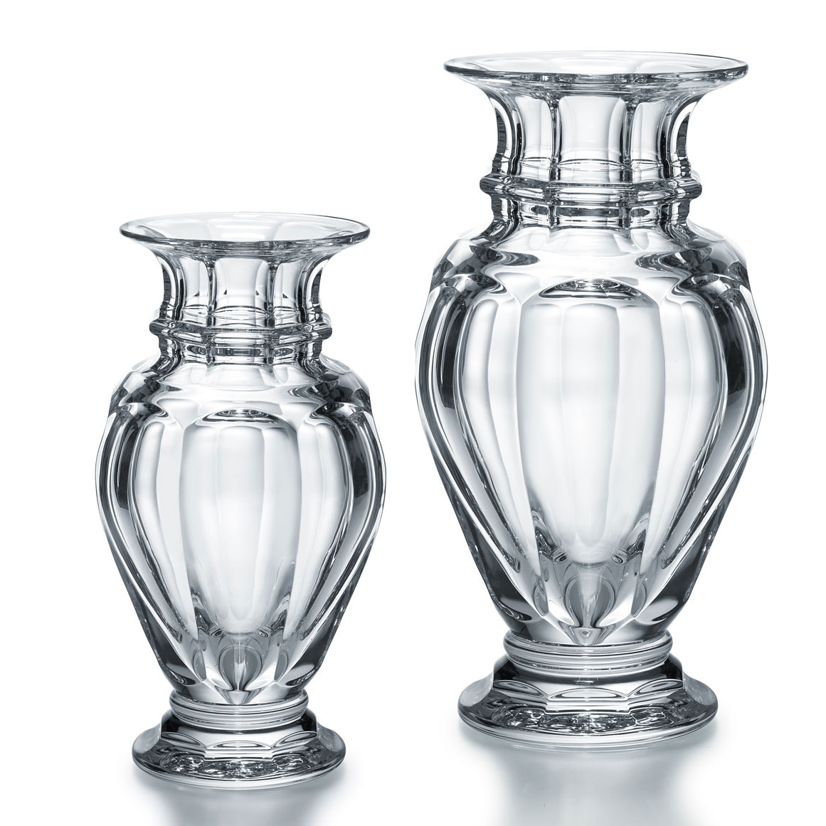 Baccarat Crystal, Harcourt Medium Baluster Crystal Vase, Clear