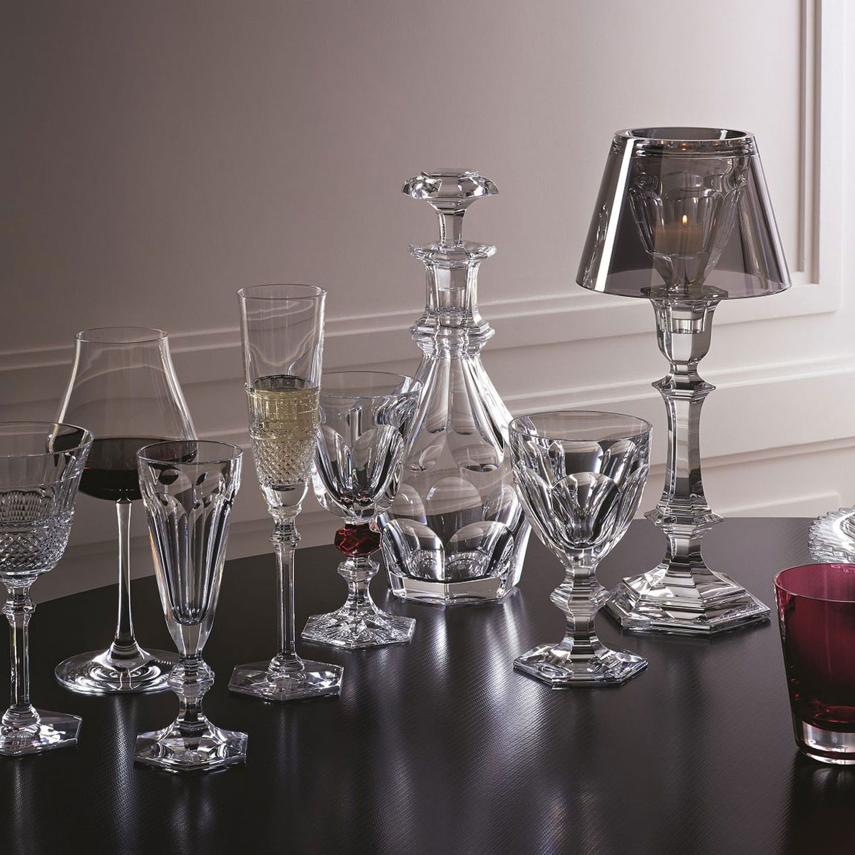 Baccarat Crystal, Diamant Crystal White Wine No. 3 Glass