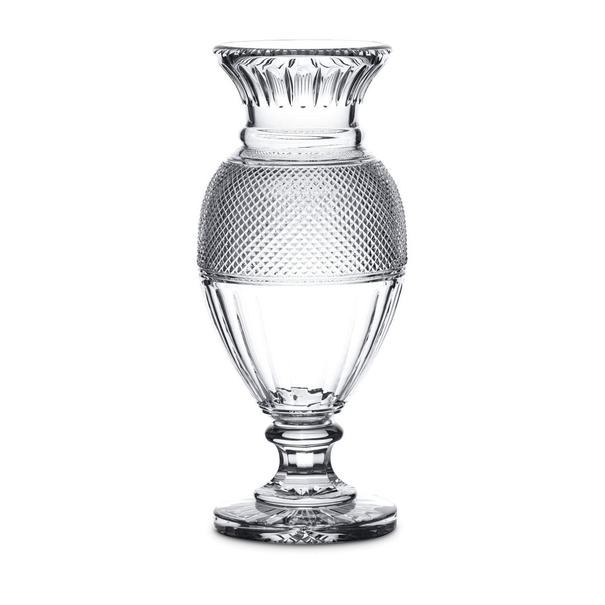 "Baccarat Crystal, Diamant Balluster 19 5/8"" Crystal Vase"