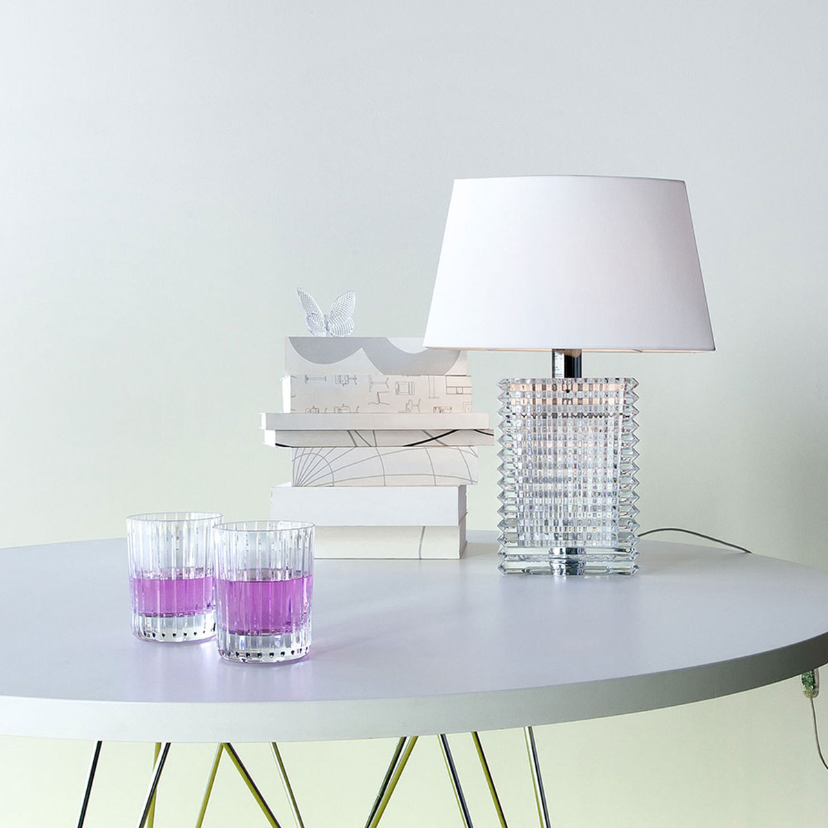Baccarat Crystal, Eye Crystal Lamp