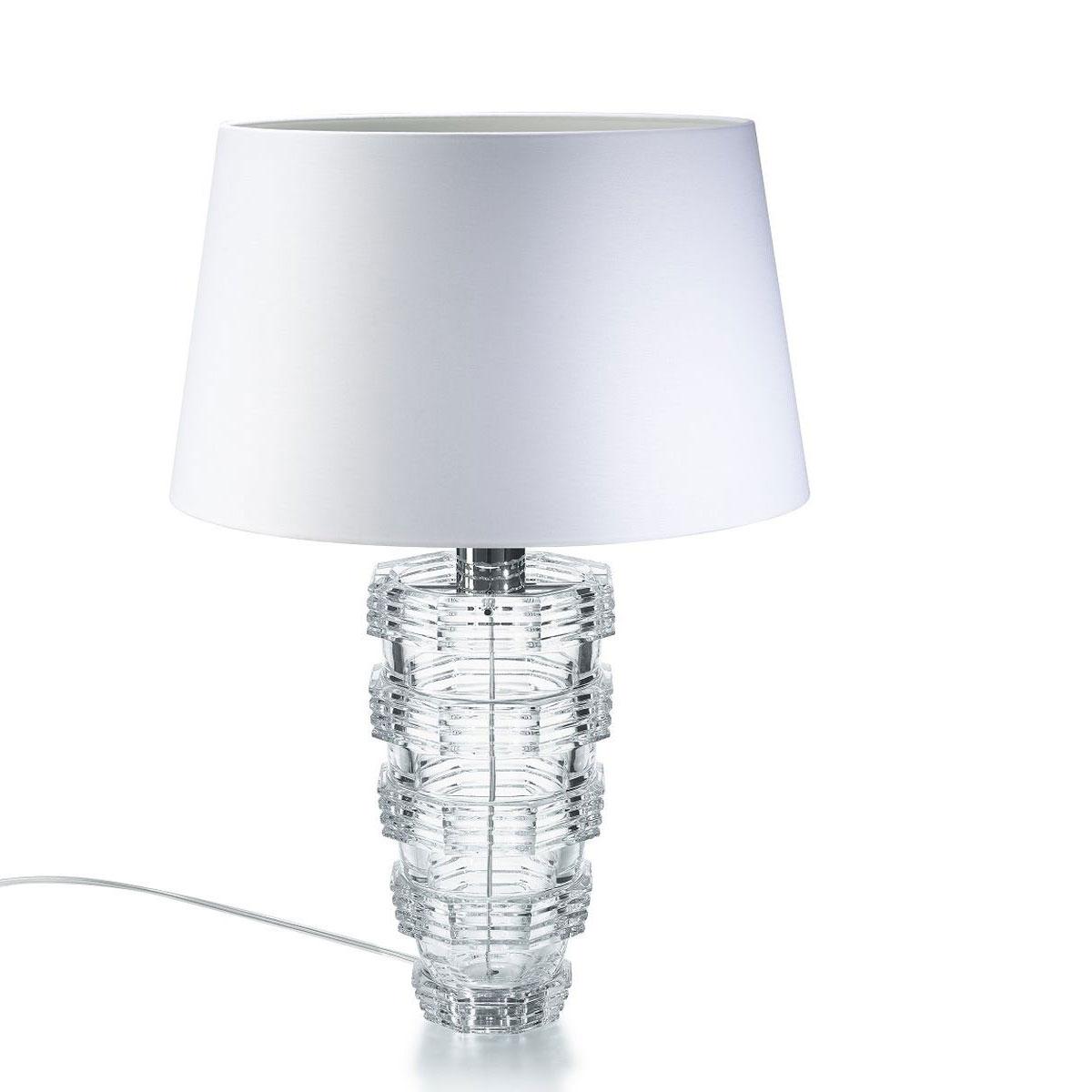 Baccarat Crystal, Heritage Cordon Crystal Lamp
