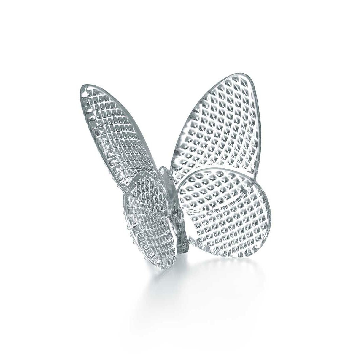 Baccarat Crystal, Lucky Butterfly, Clear Diamant
