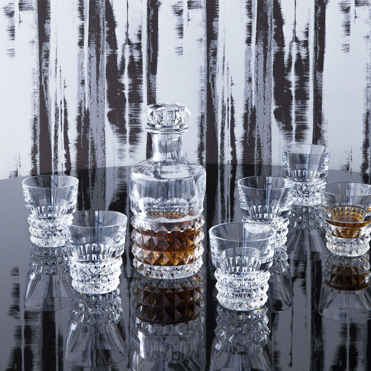 Baccarat Crystal, Louxor Whiskey Bar Crystal Glasses Set, Limited Edition of 2,000