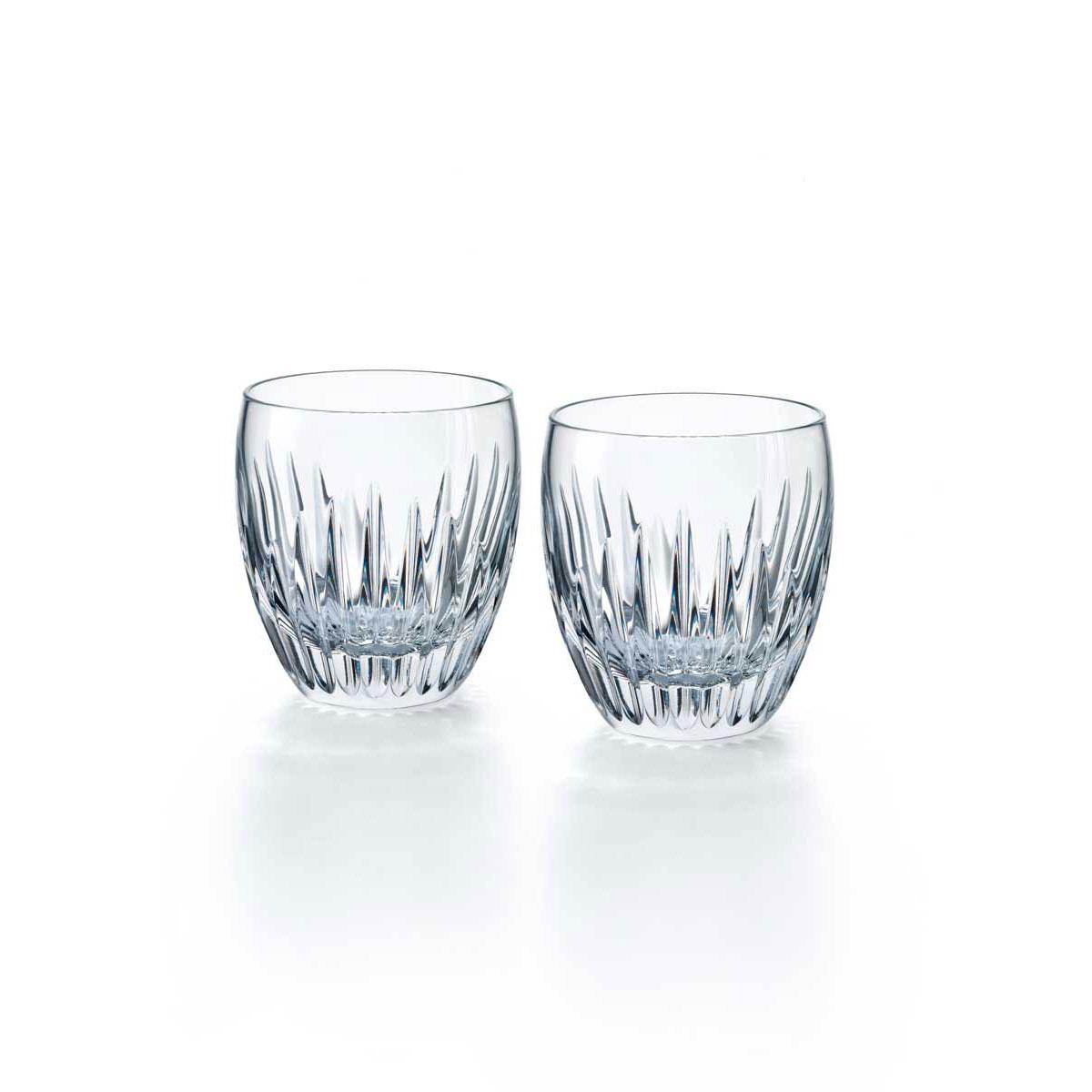 Baccarat Crystal, Massena Tumbler, Pair