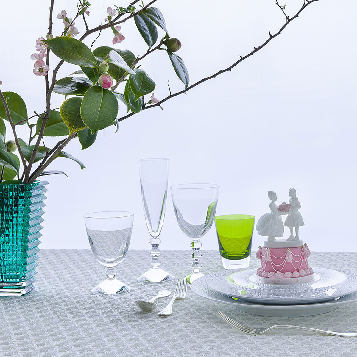 Baccarat Crystal, Vega Perfect Glass, Set of Three