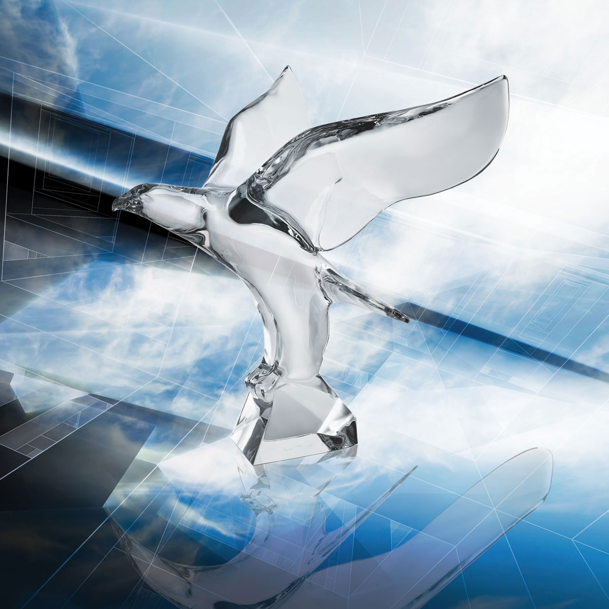 Baccarat Crystal, Aigle Aquila Limited Edition Of 50