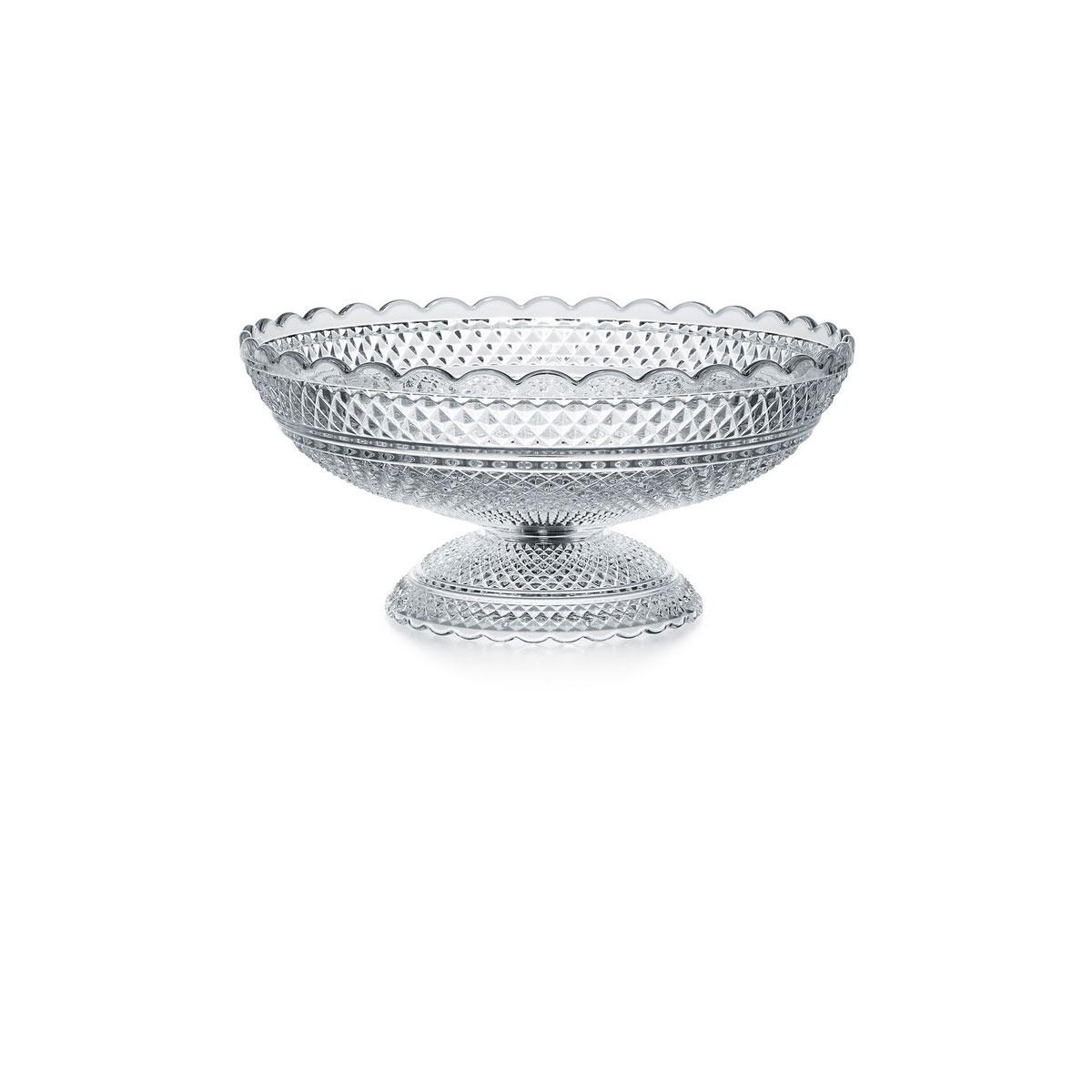 "Baccarat Crystal, Diamant 11"" Crystal Bowl"