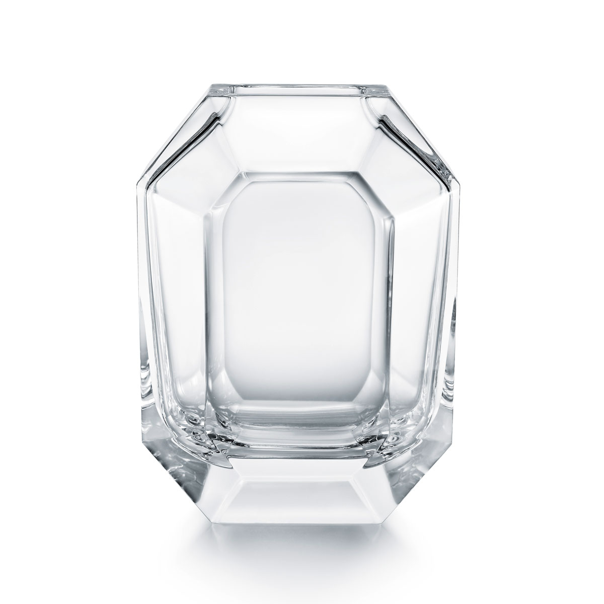 """Baccarat Octogone 10"""" Vase"""