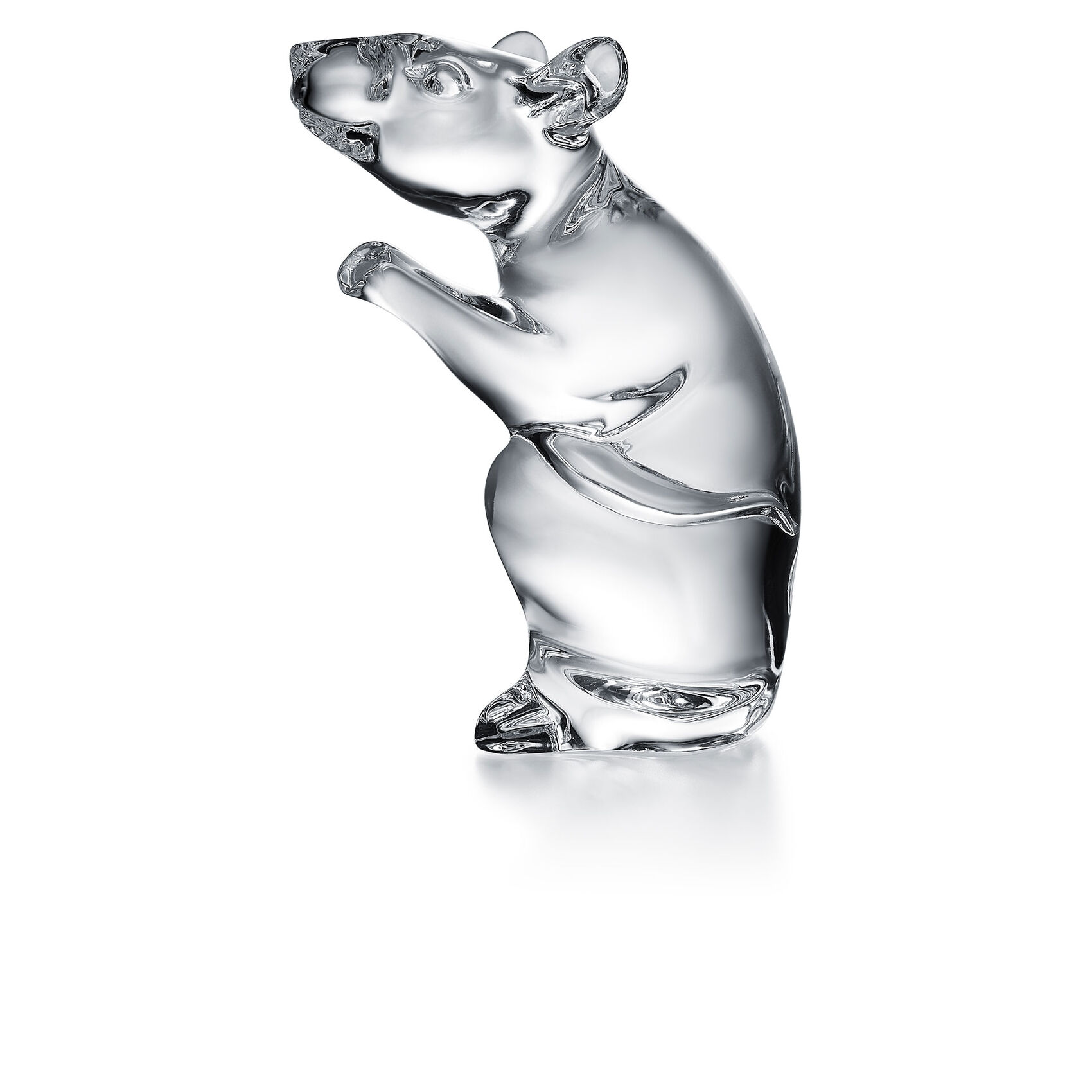 Baccarat Zodiac Mouse, Clear