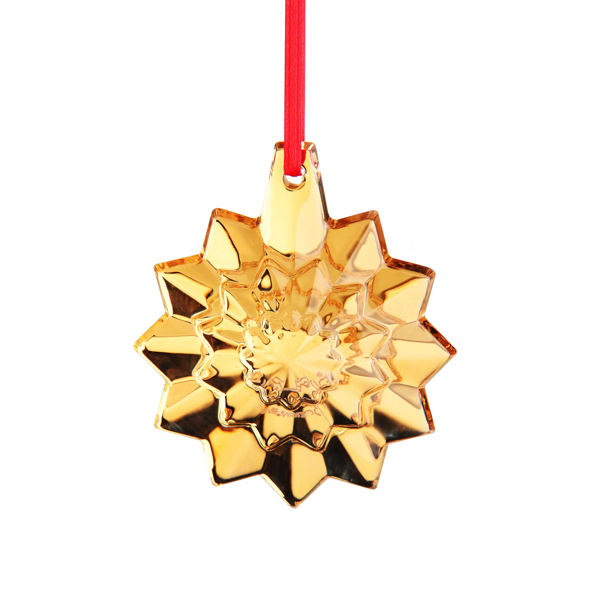 Baccarat Crystal Annual Ornament 2019, Gold