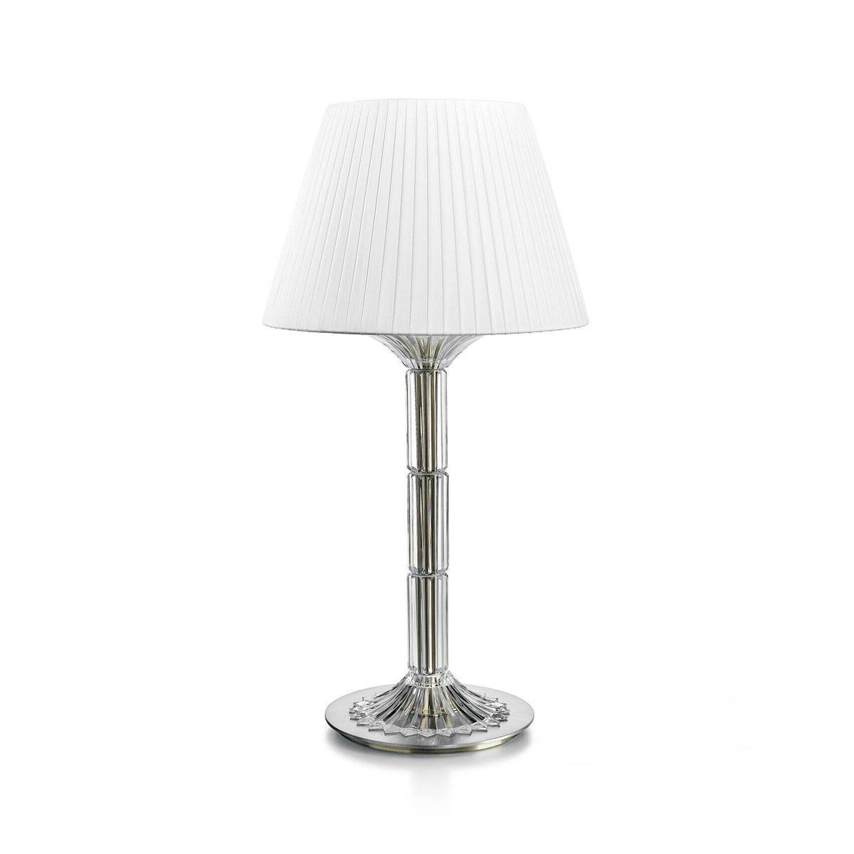 """Baccart Crystal Mille Nuits 23"""" Table Lamp"""