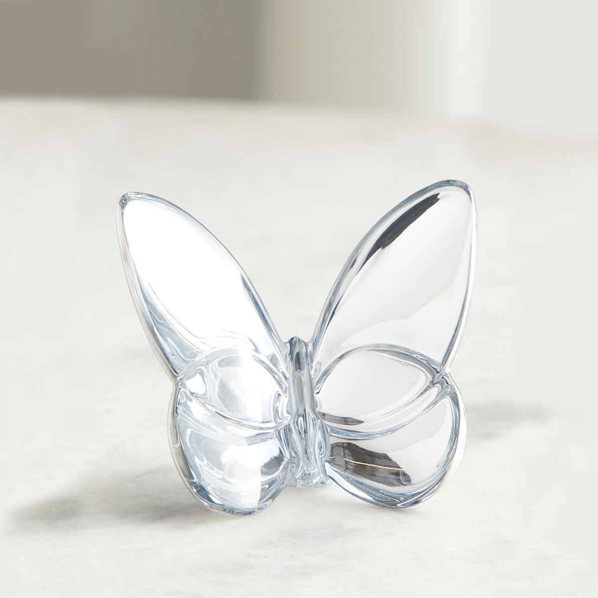 Baccarat Lucky Butterfly Silver