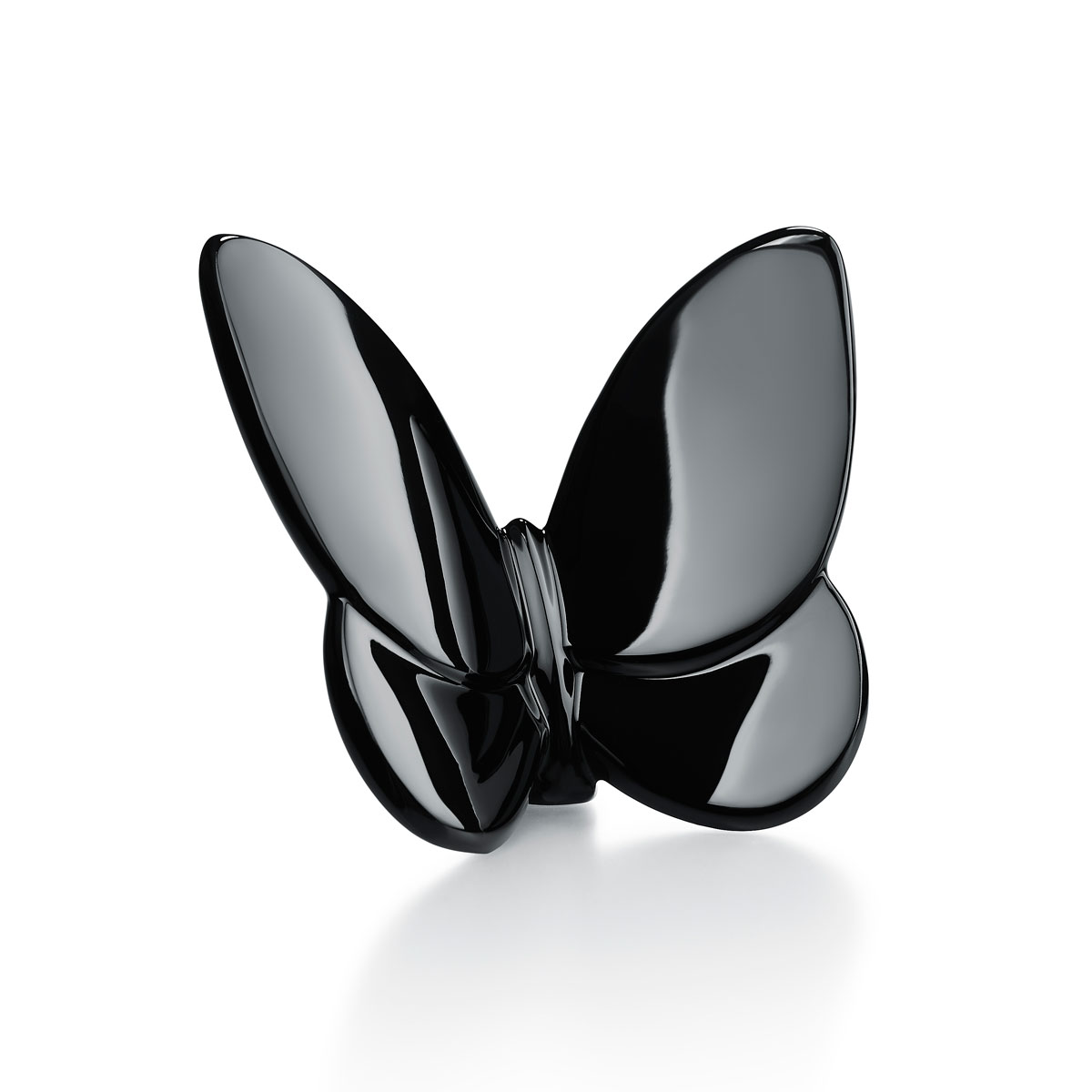 Baccarat Lucky Butterfly Black Crystal