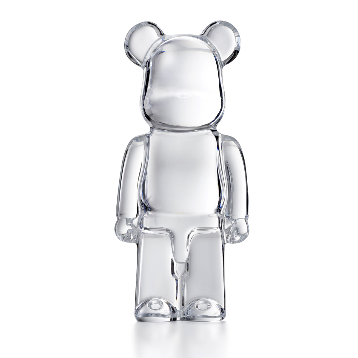 Baccarat BearBrick, Clear