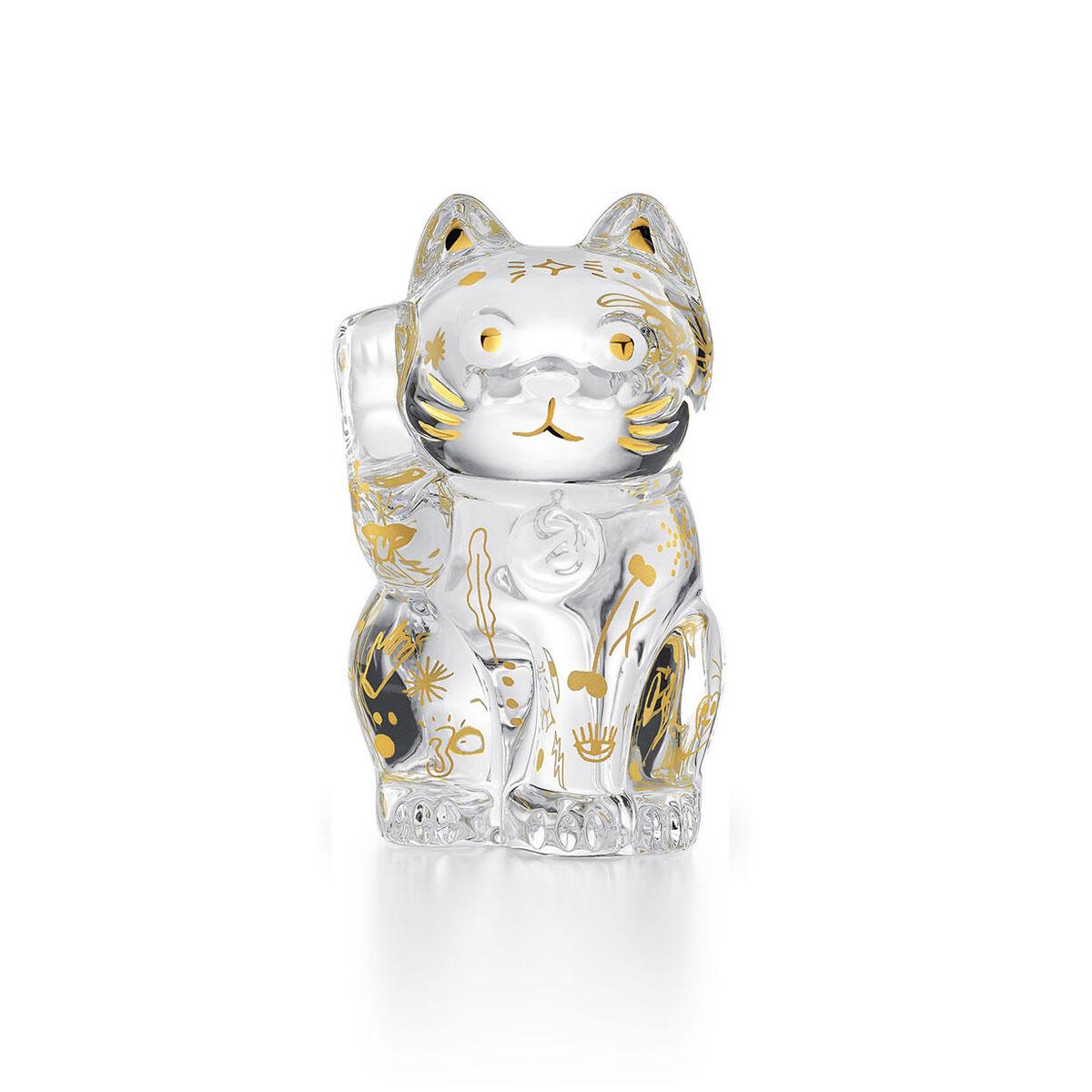 Baccarat Cat Chat Maneki Neko, Limited Edition