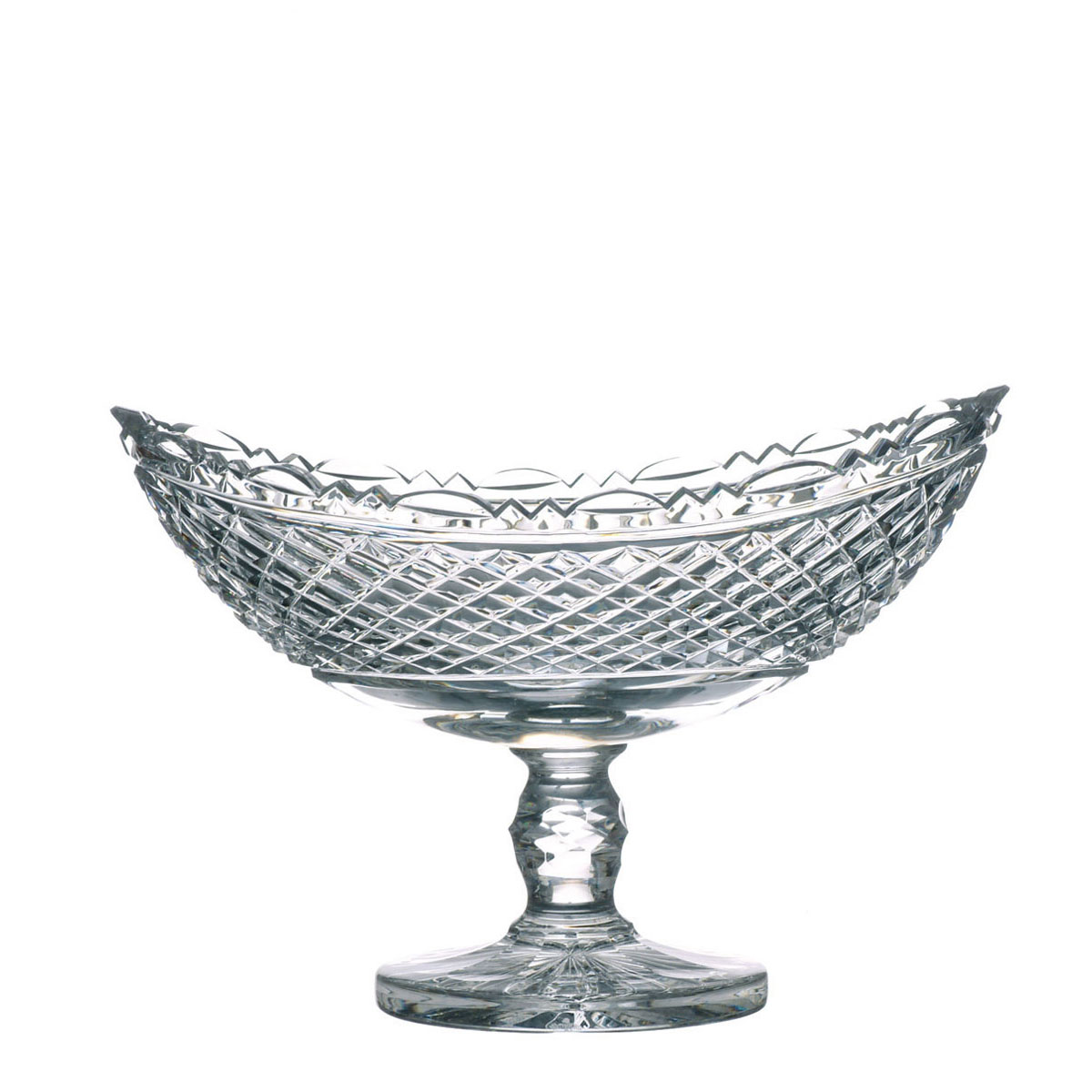 Waterford Crystal, Heritage Collection Boat Crystal Bowl