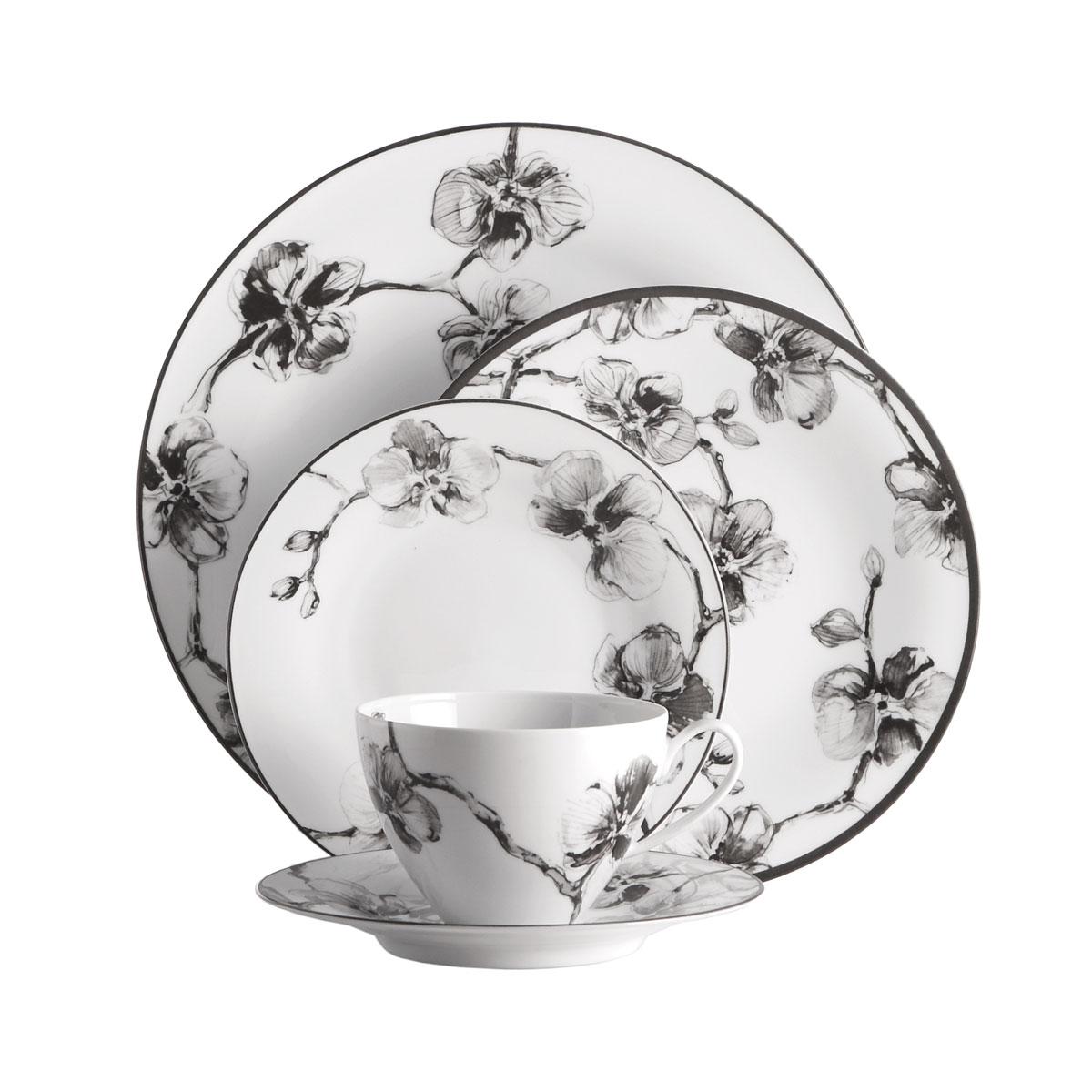 Michael Aram China Black Orchid 5pc Setting