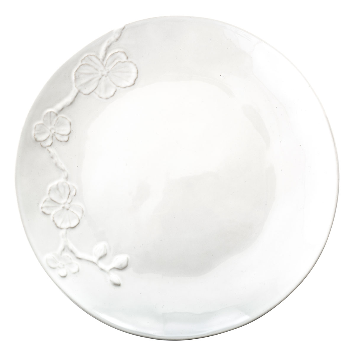 Michael Aram White Orchid Stoneware Dinner Plate, Single