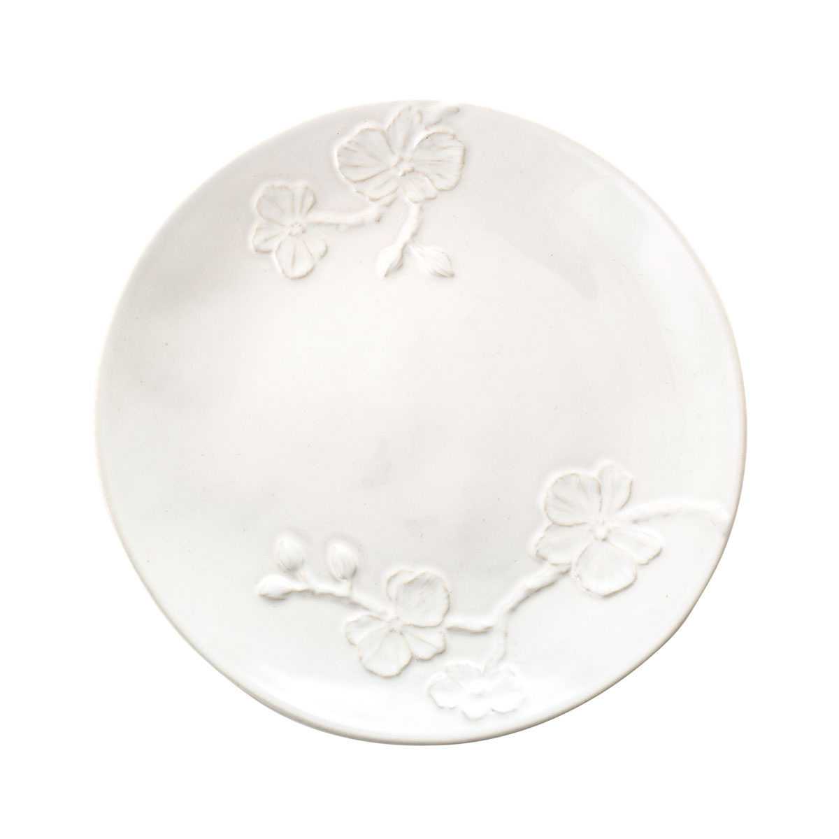 Michael Aram White Orchid Stoneware Salad Plate, Single