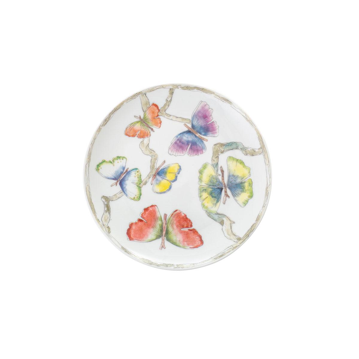 Michael Aram China Butterfly Ginkgo Tidbit Plates Set Of 4