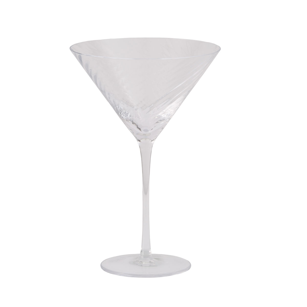 Michael Aram Twist Diamond Martini Glass, Single