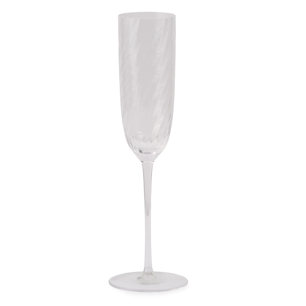 Michael Aram Twist Diamond Champagne Flute, Single