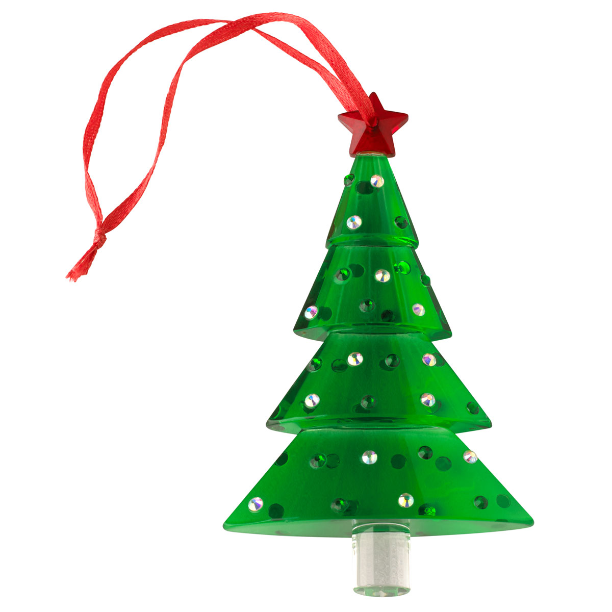 Villeroy and Boch 2020 Crystal Gems Green Tree Ornament