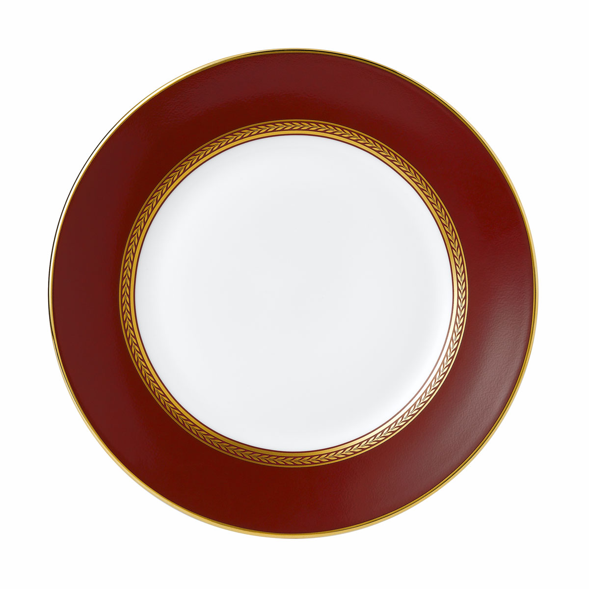 """Wedgwood Renaissance Red Plate 8"""""""