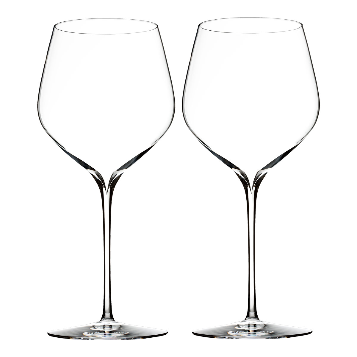 Waterford Crystal, Elegance Cabernet Sauvignon Crystal Wine Glasses, Pair