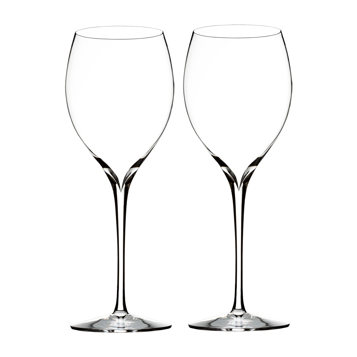 Waterford Crystal, Elegance Chardonnay Wine Glasses, Pair