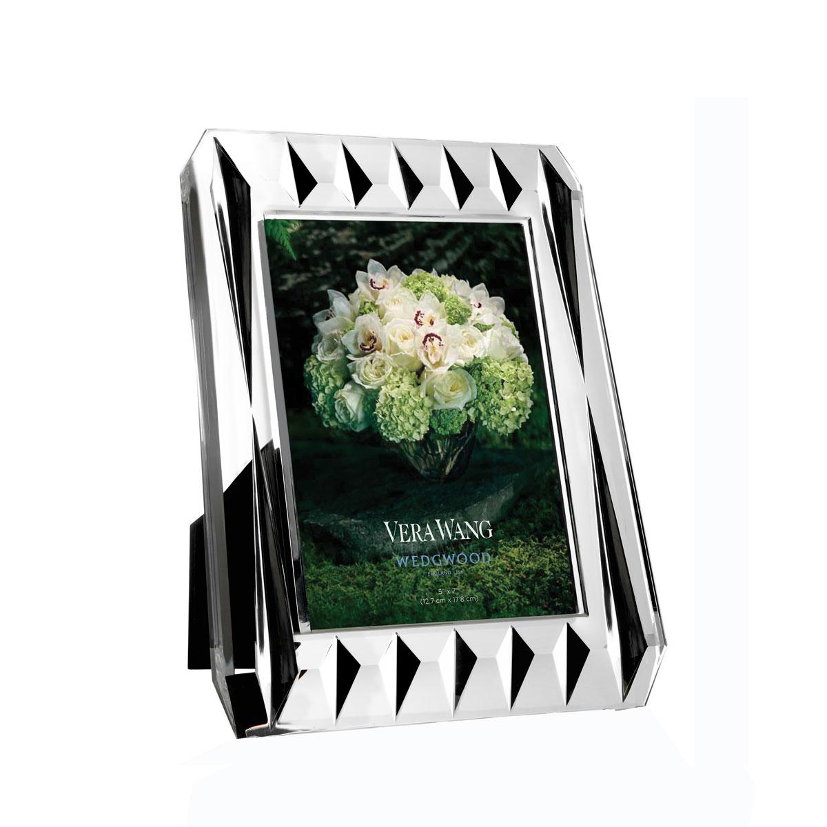 "Vera Wang Wedgwood, Vera Peplum 5x7"" Picture Frame"