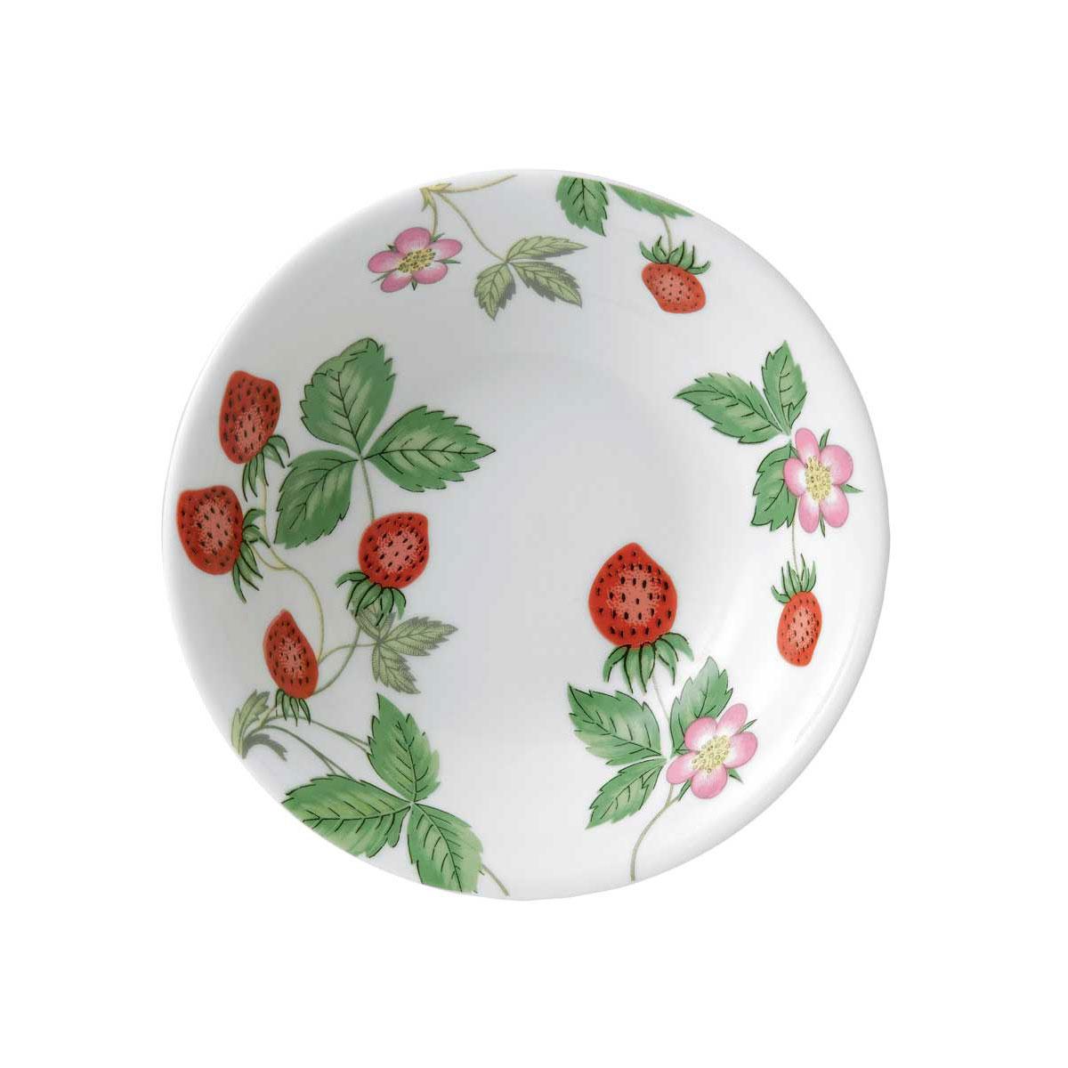 Wedgwood China Wild Strawberry Nurseryware Oatmeal Bowl