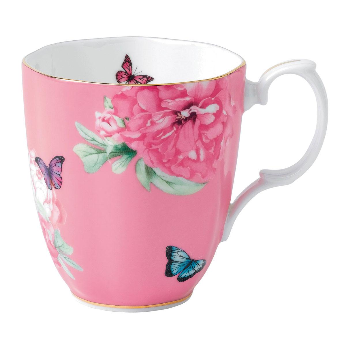 Royal Albert Friendship Vintage Mug 13.5 Oz Pink